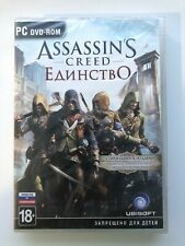 Assassins Creed: Unity Special Edition PC DVD Case Russian Cover Brand New