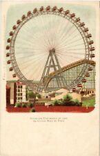CPA PARIS (7e) La Grande Roue. EXPO 1900 (535008)