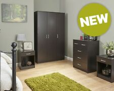 NEW Contemporary Desk/3&4 Piece Bedroom Furniture Sets Stylish Colour Options