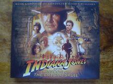 "JOHN WILLIAMS ""INDIANA JONES AND THE CRYSTAL SKULL"" classic Spielberg Score CD"