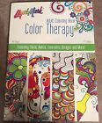 Liqui-Mark Adult Coloring Book Color Therapy 48 pages 2nd Edition Floral Animal