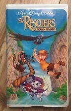 Disney The Classics Black Diamond The Rescuers Down Under Vhs NTSC