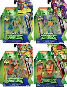 Rise Of The Teenage Mutant Ninja Turtles Leonardo Donatello Michelangelo Raphael