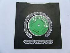 RACHEL SWEET BABY LET'S PLAY HOUSE B/W WILDWOOD SALOON 1978 UK STIFF 45 RPM P/S