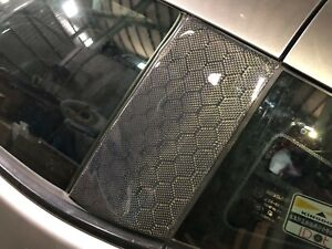 Honeycomb Carbon fiber B pillars for all Nissan 370Z Z34 EVO-R