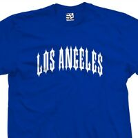 Los Angeles Outlaw T-Shirt - Lowrider Metal Iron Rock Punk Tee All Size & Colors