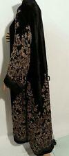 New open front  winter abaya/islamic wear/saudi women dress.size 52.54.56.58