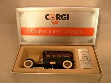 1985 MADE IN GREAT BRITAIN CORGI C860/2 1912 BLACK ROLLS-ROYCE SILVER GHOST MIB