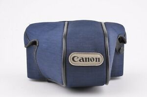 EXC++ CANON T50 S EVEREADY BLUE CASE w/STANDARD PRIME LENS, CLEAN CONDITION