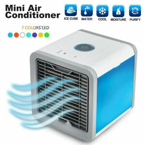 2020 New USB Powered Fan Cooling Mini Air Conditioner Portable Desktop Cooler