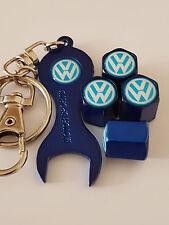 VW VOLKSWAGEN Blu Polvere Valvola Coperchi & Spanner tutti i modelli Retail Pack GOLF BEETLE