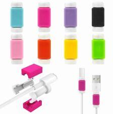 Protector Cable (x2)USB Cargador Iphone 5,6,7,8 Y X ,