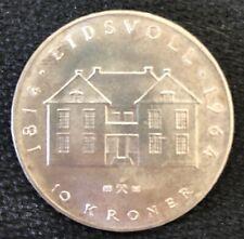 1964 ~ NORWAY ~ 10 KRONEN ~ EF45 Condition