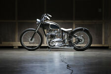 triumph unit 750 650 custom bobber cafe chopper hardtail frame vintage engine tr
