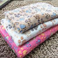 Pet Dog Cat Rest Blanket Mat Puppy Fleece Soft Warm Sleep Bed Cushion