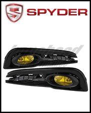 Spyder Honda Civic 2013-2014 4dr OEM Fog Light W/Switch Yellow