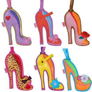 Luggage Tags Fancy Shoes by Fluff LA - Set of 6