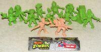 Lot Of 12 Jakks S.L.U.G. Zombies Figures Series 4