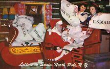 North Pole,NY.Santa's Mail Room,Adirondacks,Essex County,Used,1950s