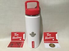 TIM HORTONS CANADA 2020 Brand New Twist Top Metal Insulated Hydration Bottle