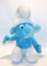 "Vintage Smurfs Peyo Co 1979 Wallace Berrie Blue Stuffed Plush Doll 10"" Nutshells"