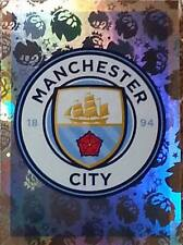 149 Manchester City Insignia brillante 2016/2017 Topps Merlin Premier League Pegatina