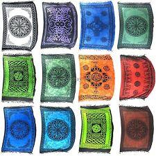 lot of 10 sarong yoga meditation tapestry mandala Celtic hippie clothing style