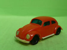 PLASTIC PLASTIK VW VOLKSWAGEN KAFER BEETLE - made in Hong Kong - GOOD CONDITION