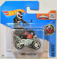 HOT WHEELS 2016 HW MOTO HONDA MONKEY Z50 #5/5 SHORT CARD