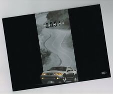 2001 Ford MUSTANG SVT COBRA Brochure / Catalog / Pamphlet: Convertible,