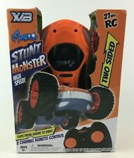 Monzoo Stunt Monster Dino Shark X/B Two Sided Remote Control Car Toy 27MHz