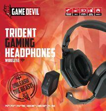 Cuffie Gaming per PS4 PC XBOX ONE  Controllo Volume e Splitter Audio Wireless