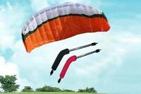 Brand New Control Power Kite 3M 4 Dual Lines for Buggy Sport Outdoor 3m x 1.5m