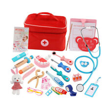 Kids Children Doctor Nurses Pretend Role Play Medical Kit Game Toys Girl Gifts