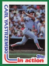 1982 Topps Carl Yastrzemski #651 Boston Red Sox