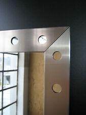 Spiegel Badspiegel Wohnraumspiegel Wandspiegel grau 75 x 56 cm Neu