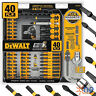 Magnetic Screwdriver Bit Set 40 Piece Dewalt Impact Drill Driver Bits Screw Lock