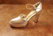 cf379a85a277 Gucci  Agon  Platform Pump Sandals Silver Womens 11 US 41 Eur MSRP