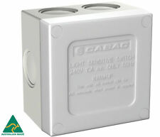 CABAC AC Weatherproof Sunset Outdoor Light Sensor Timer Eco Switch 16a HSC110SS