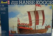 Revell 1/72 Hanse Kogge Merchant Sailing Ship New 5411