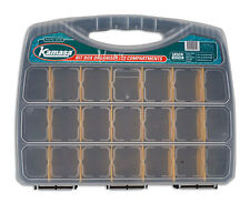 Kamasa Compartment storage organiser box. 23 compartments, Movable dividers