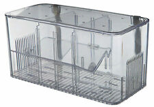 Aquarium Fish Hatchery 5 Chamber System Breeding Trap with Lid