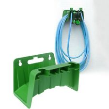Wall Mounted Garden Hose Pipe Hanger Holder Storage Bracket Shed Fence Cable Hot