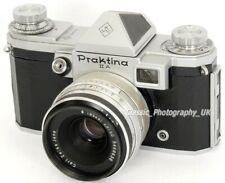 Praktina IIA 35 mm SLR par VEB Kamera-Werke Niedersedlitz + Zeiss Formule optique Tessar 50 mm F2.8