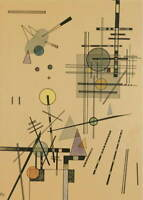 Wassily Kandinsky Strings Poster Reproduction Paintings Giclee Canvas Print
