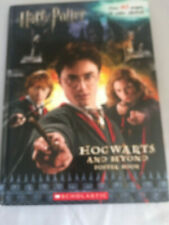 Harry Potter Movie Tie-In: Hogwarts and Beyond by Warner Bros. Entertainment Sta