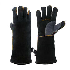 Fire-resistant And Heat-resistant Glove Leather for Fireplaces Stoves Ovens HG