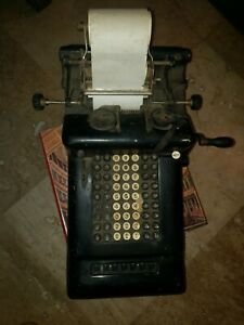 Antique Burroughs counting Machine