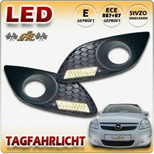 Opel Zafira B II Facelift LED Tagfahrlicht TFL Set im Nebel Gitter 2008-2014 NEU