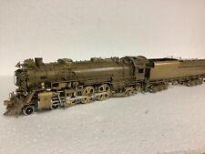 HO Brass Locomotive PFM Crown F-17 4-6-2 w/ Vandy Tender Analog